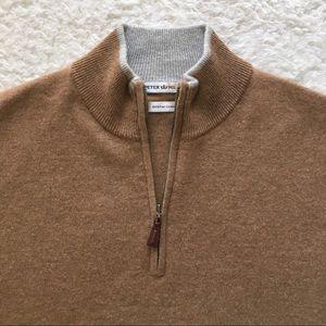 Peter Millar Cashmere 1/4 Zip Sweater